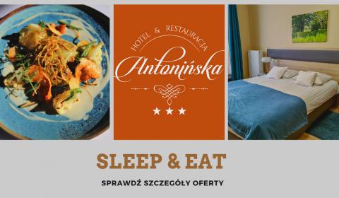 Oferta ze śniadaniem i obiadokolacją - SLEEP&EAT