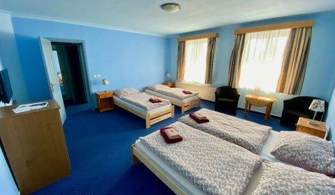 Čtyřlůžkový pokoj s vanou