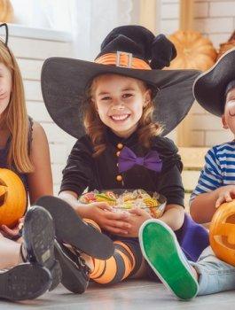 Rodzinne Halloween na Mazurach