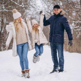 Zima w Górach Świętokrzyskich