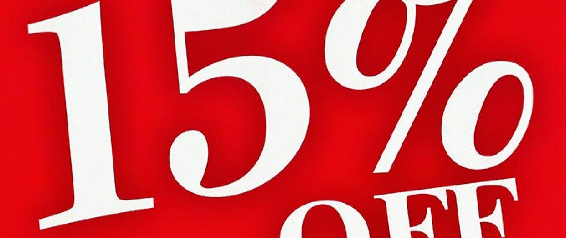 Oferta First Minute -15% DISCOUNT