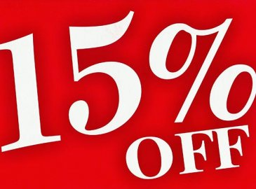 Oferta First Minute -15% DISCOUNT