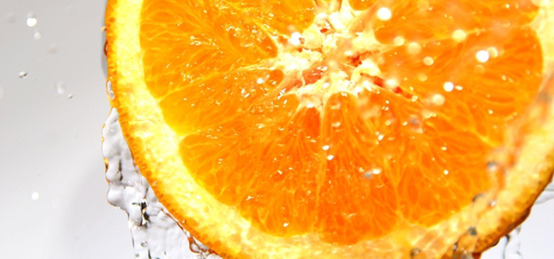 Dwie połówki pomarańczy