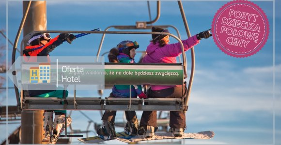 Oferta narciarska - skipass i obiadokolacja w cenie