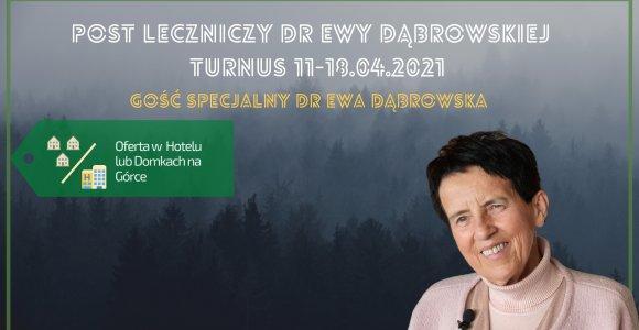 Post leczniczy dr Ewy Dąbrowskiej 30.05-06.06.21