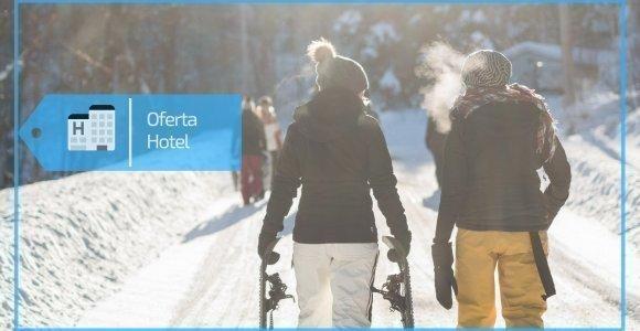 Ferie na nartach w hotelu - skipass i obiadokolacja w cenie