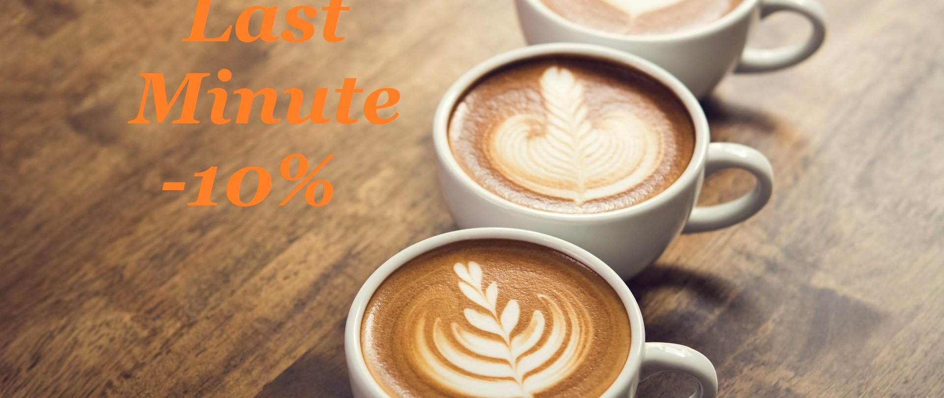 Last Minute offer with breakfast -20%