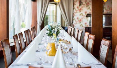 Rodzinny obiad w Hotelu Witek ****