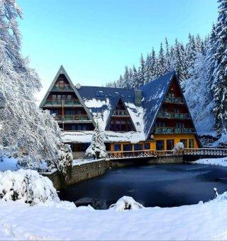 Zima w Karkonoszach - Ferie