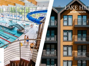 Letnie szaleństwo w Lake Hill Apartments i Termach Cieplickich