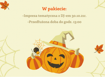 Weekend Halloweenowy 29-31.10.21r.