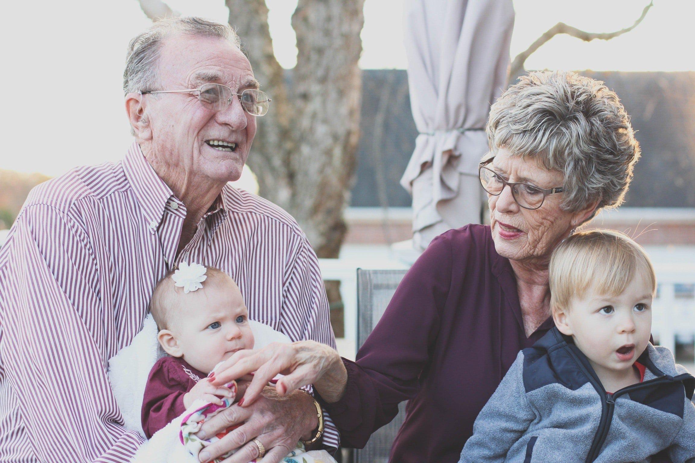 Grandparents & Granchildren at Las Woda