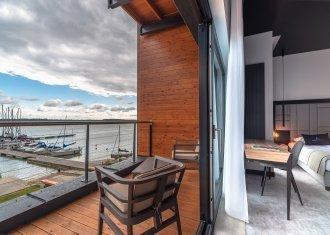 Apartament Suite z widokiem na jezioro