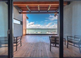 Suite mit Blick auf den See