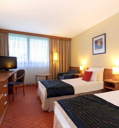 Pokój standardowy z 2 pojedynczymi łóżkami na parterze