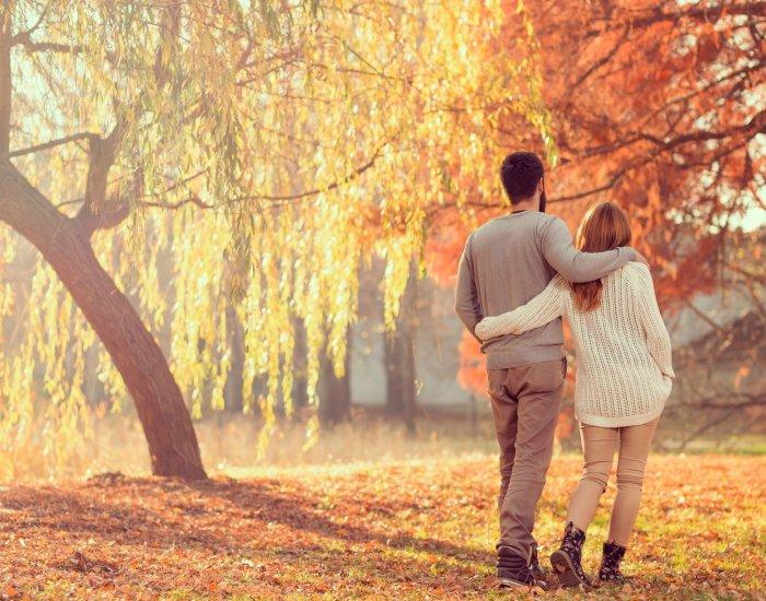 Autumn walk around Krakow