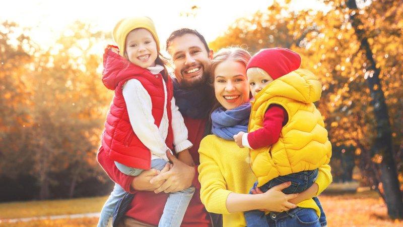 Rodzinna JESIEŃ NAD MORZEM w SPA
