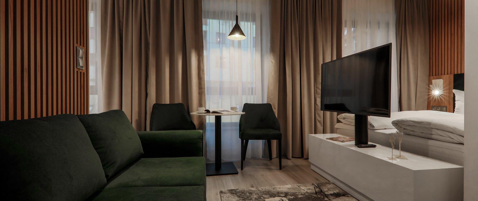 Apartament Studio typu Deluxe