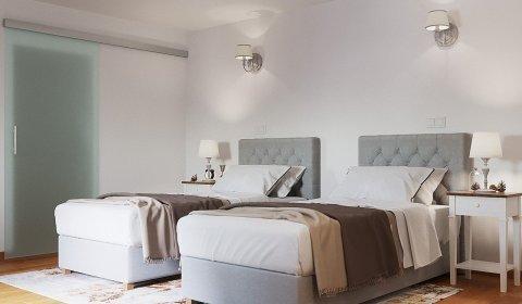 Deluxe-Zimmer im Hinterhaus