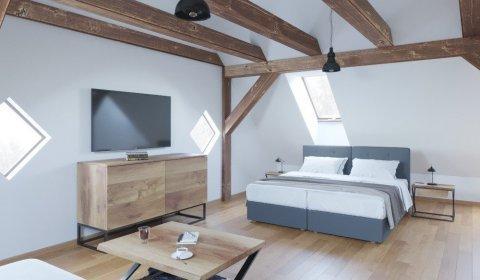 Apartament Delux  w Oficynie