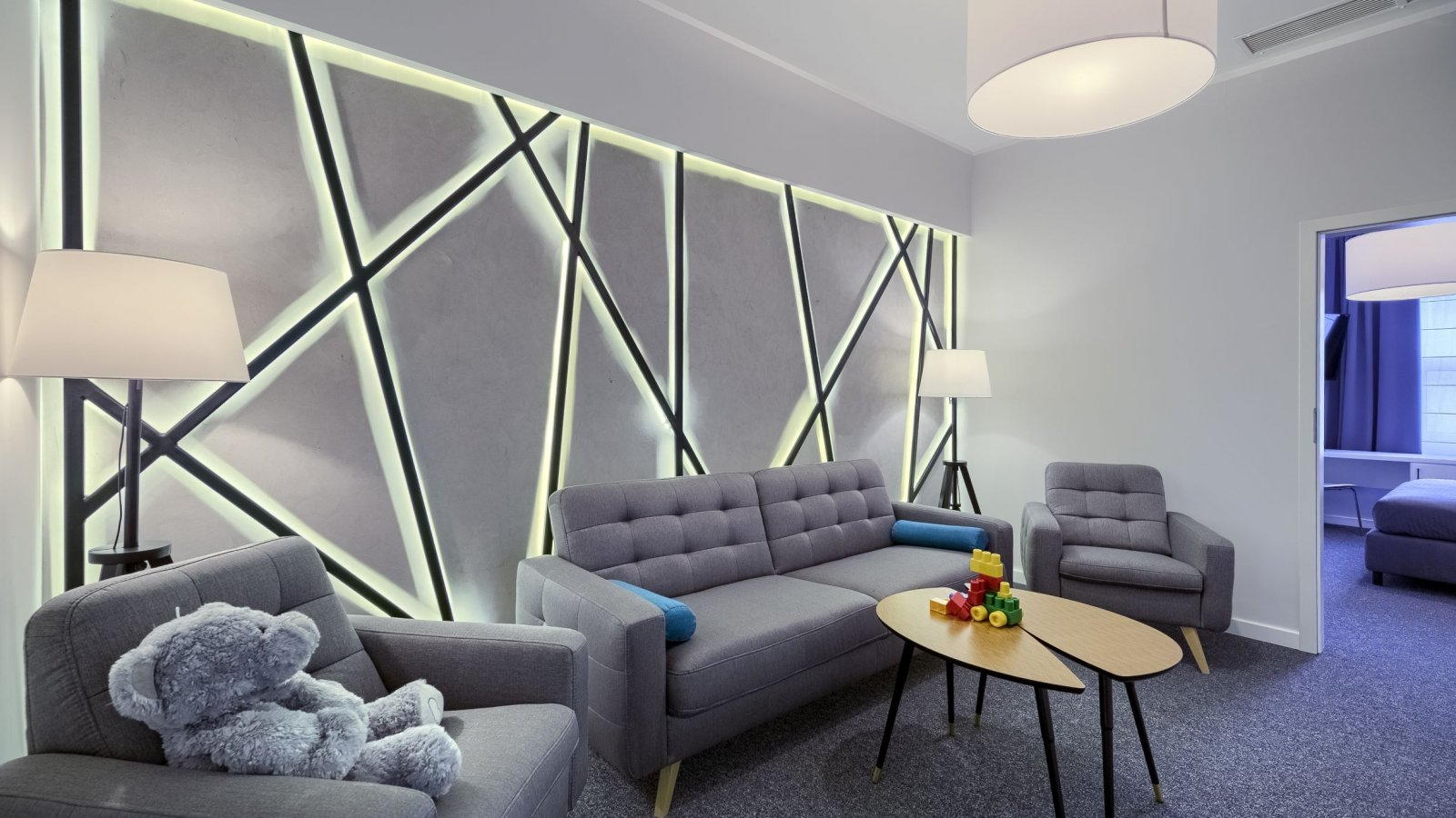 Apartament rodzinny typu Deluxe Suite