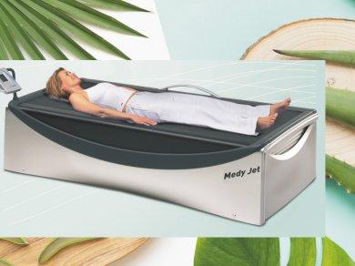 Masaż na łóżku wodnym MEDI JET