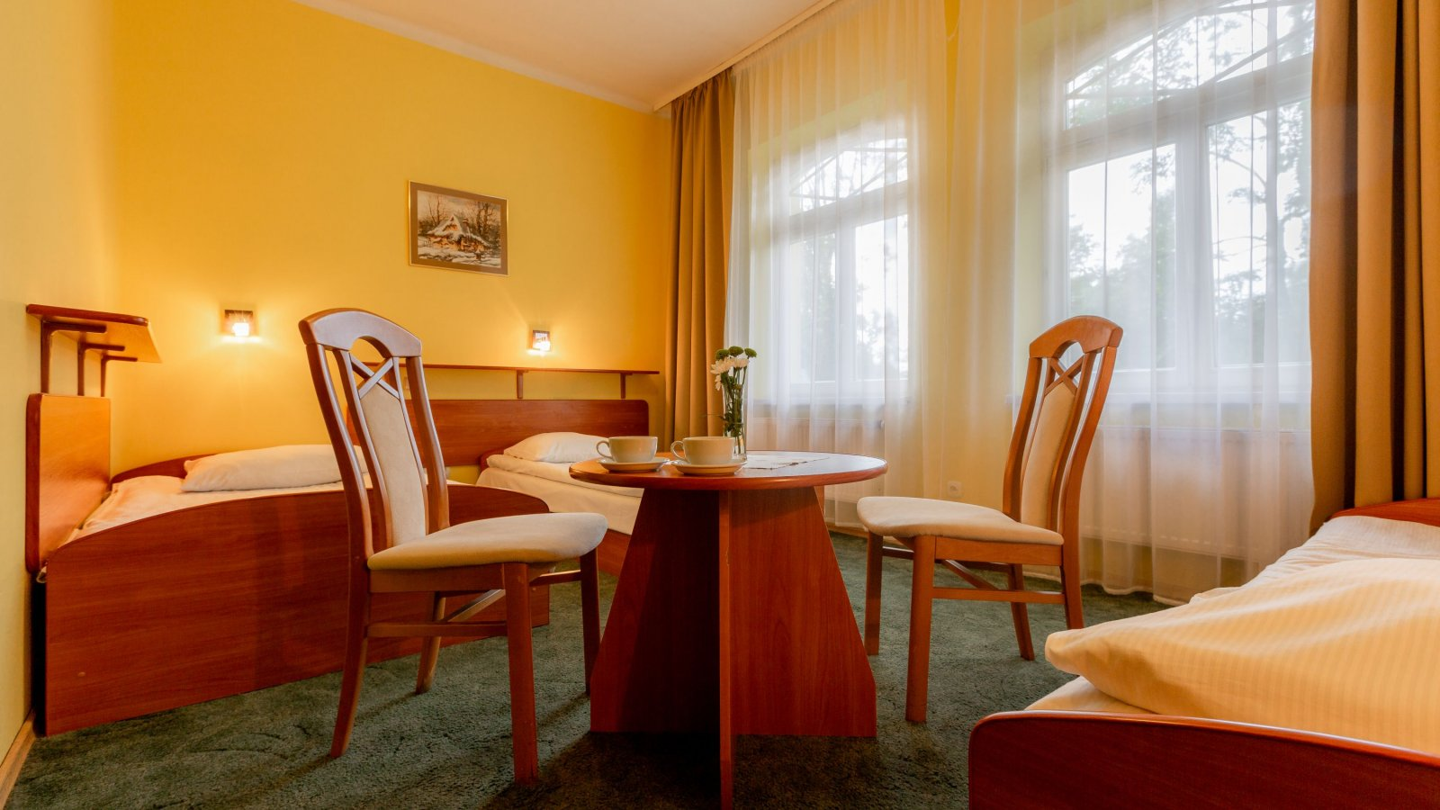 3-person room in Villa Żychoniówka