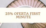 Oferta first minute  -25%