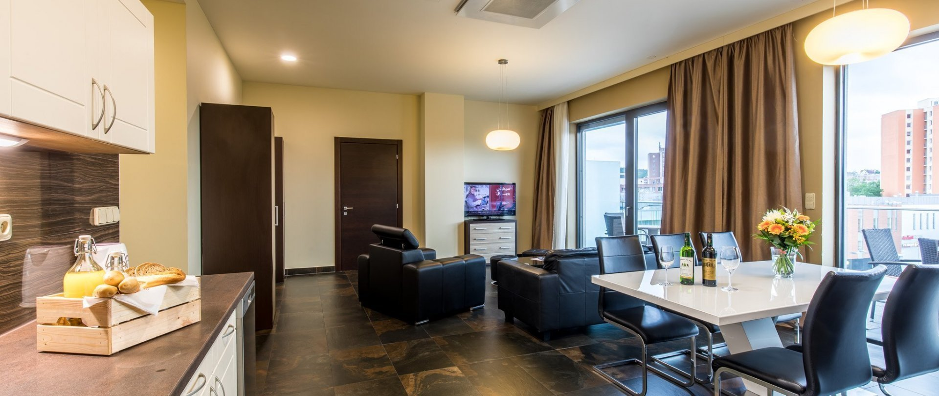Apartment with 2 bedrooms and balcony