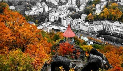 Podzim v Karlových Varech