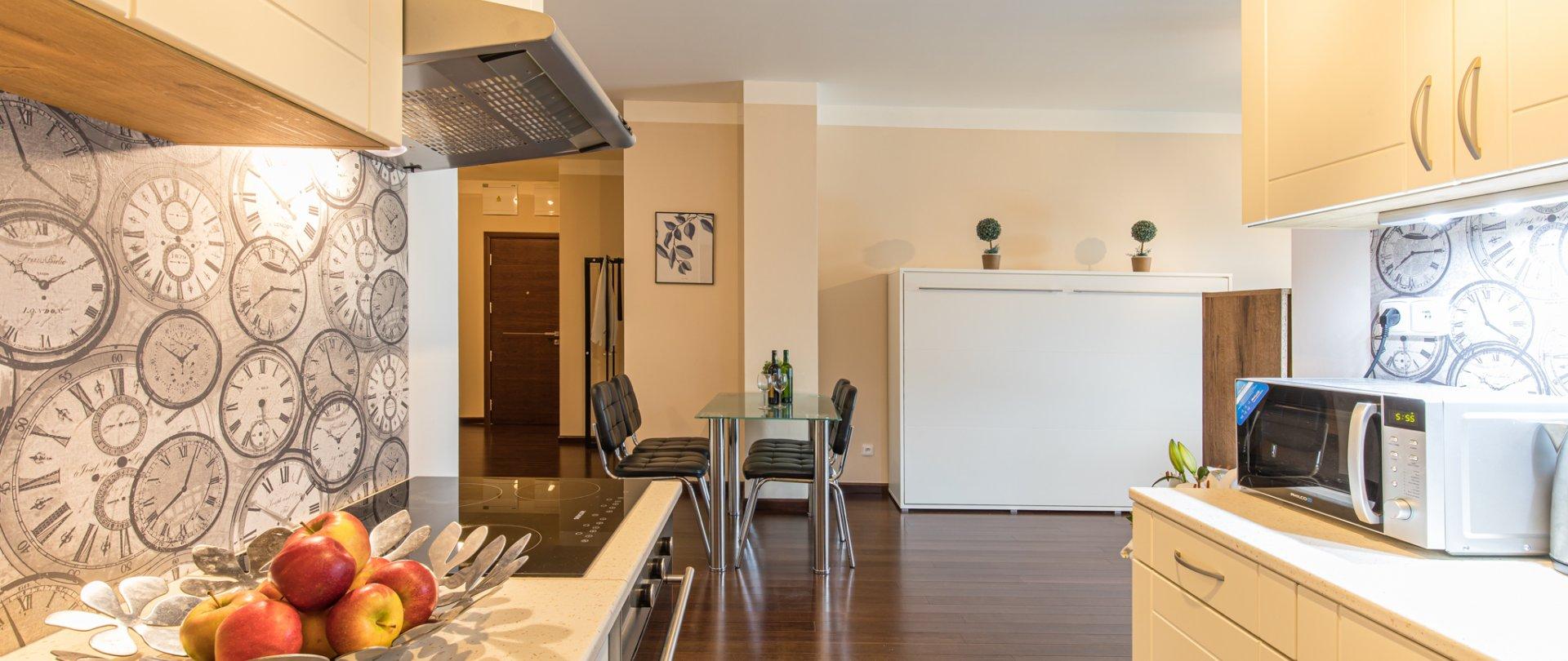 Family apartmán s 1 ložnicí a balkonem