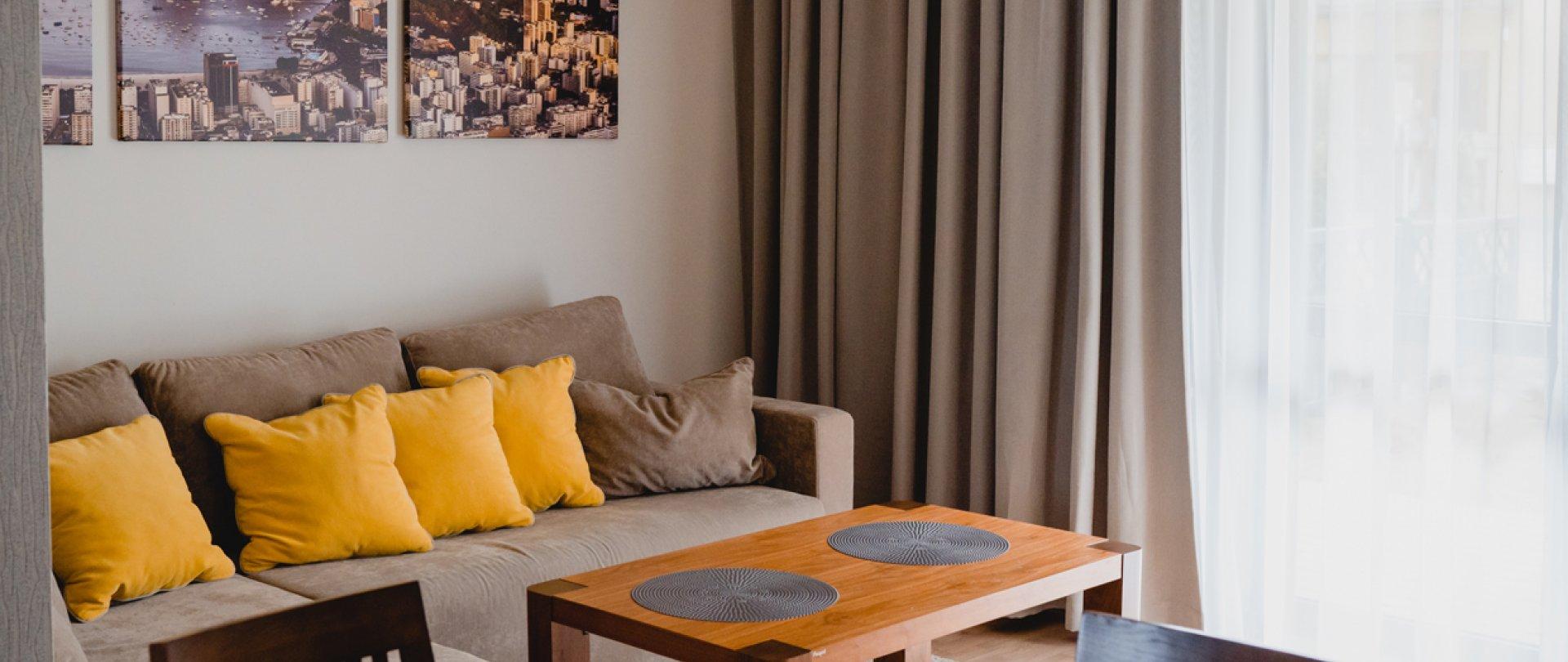 Apartament z dwiema sypialniami (ul. Orła Białego 7/1)