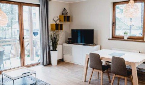 Apartament z dwiema sypialniami (ul. Orła Białego 9/2)