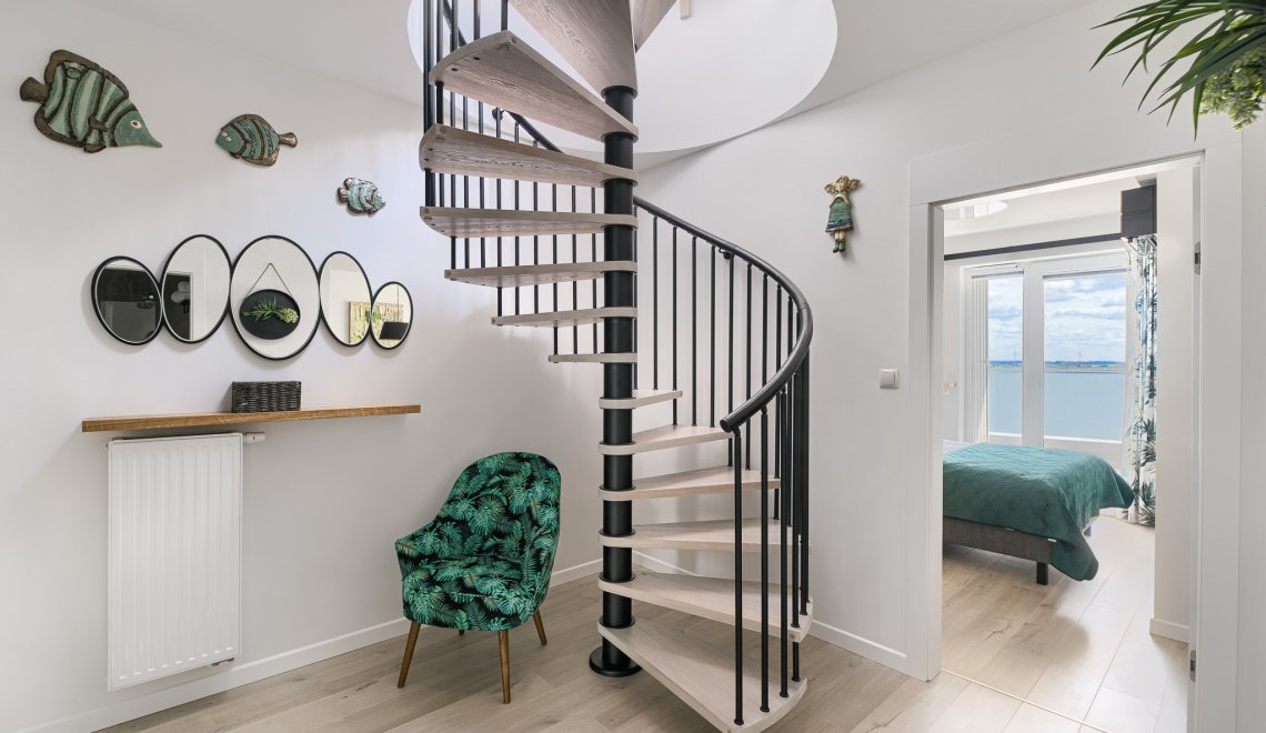Apartament Deluxe z 1 sypialnią 2.508 i tarasem widokowym na jezioro