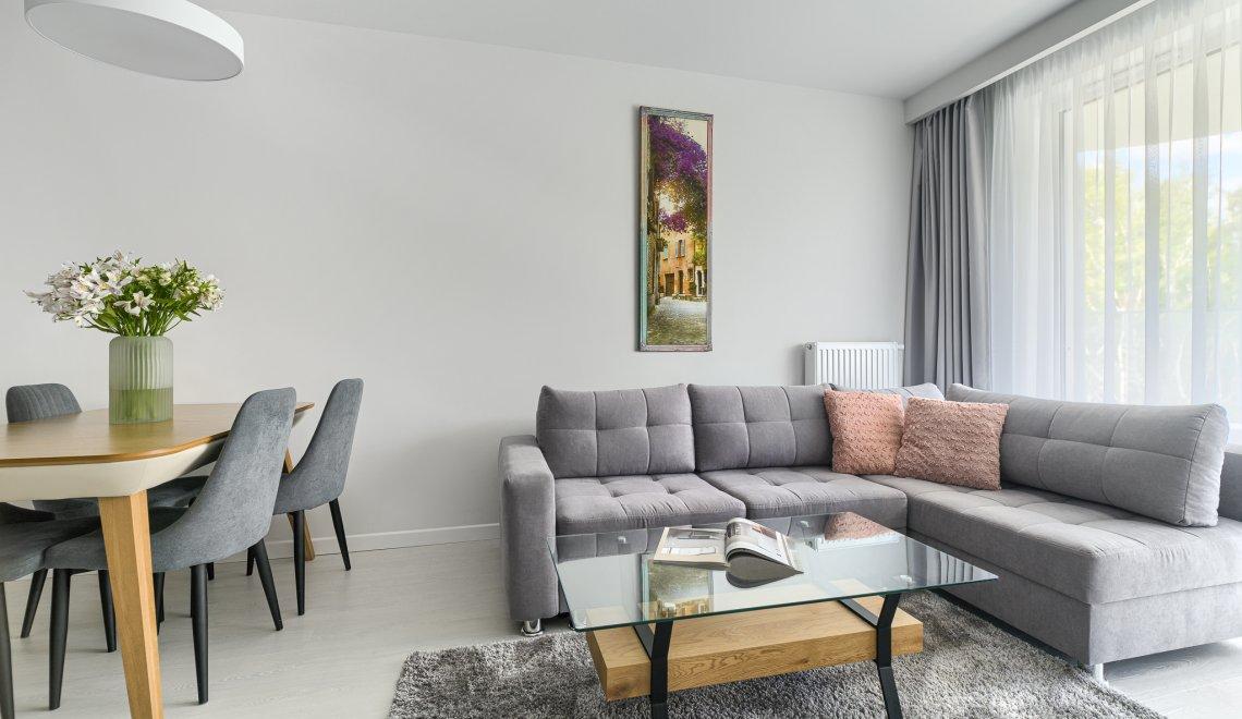Apartment Deluxe mit 1 Schlafzimmer 2.204 und seitlichem Seeblick