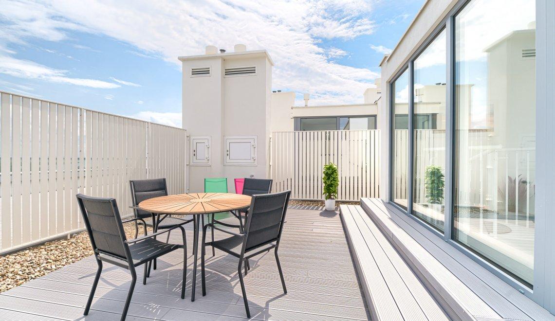 Apartament z 1 sypialnią 1.504 i tarasem widokowym na morze