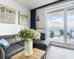 Apartament Deluxe z 1 sypialnią 2.507 i tarasem widokowym na jezioro