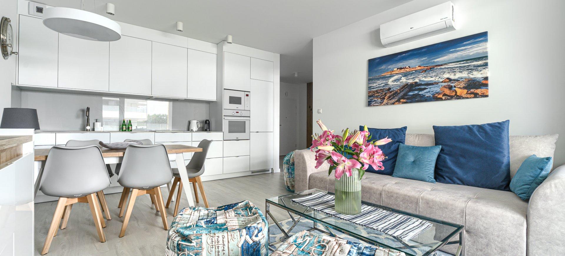 Apartment GRAND mit 1 Schlafzimmer 2.102 und seitlichem Seeblick