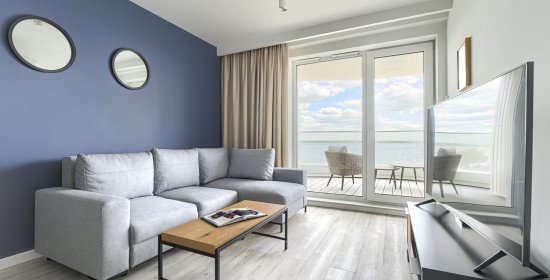 One-bedroom Apartment Deluxe 2.307 with frontal Lake view