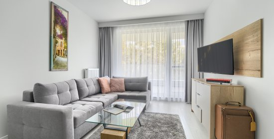 Deluxe One-bedroom apartment 2.204 with side lake view