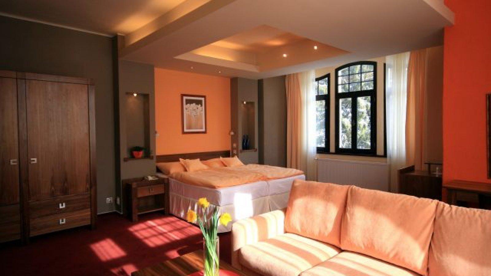 Dvoulůžkový pokoj de Lux