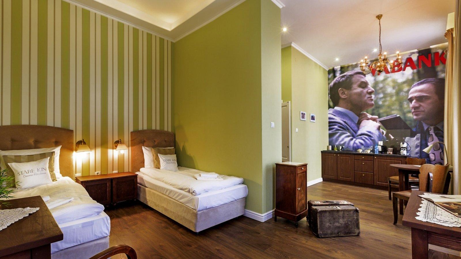 """""""Vabank"""", twin suite"""