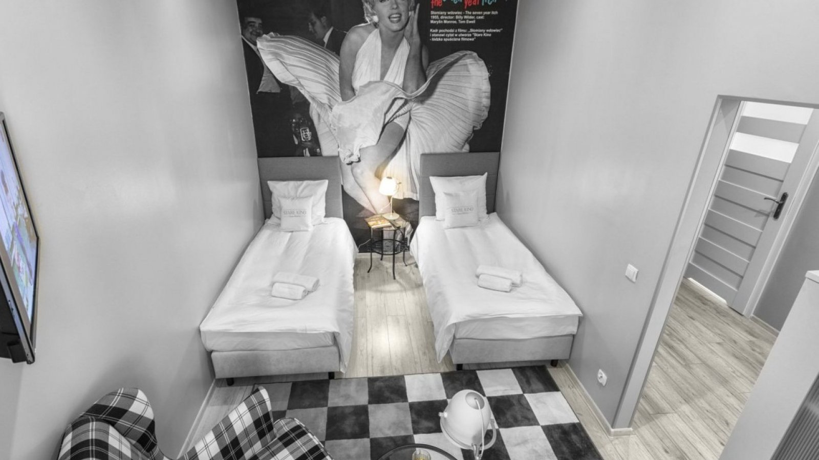 Cinema Room Marylin Monroe | Twin