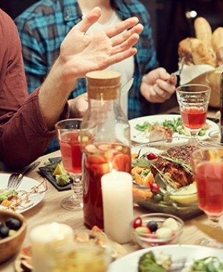 Stolik imprezowy Restauracja