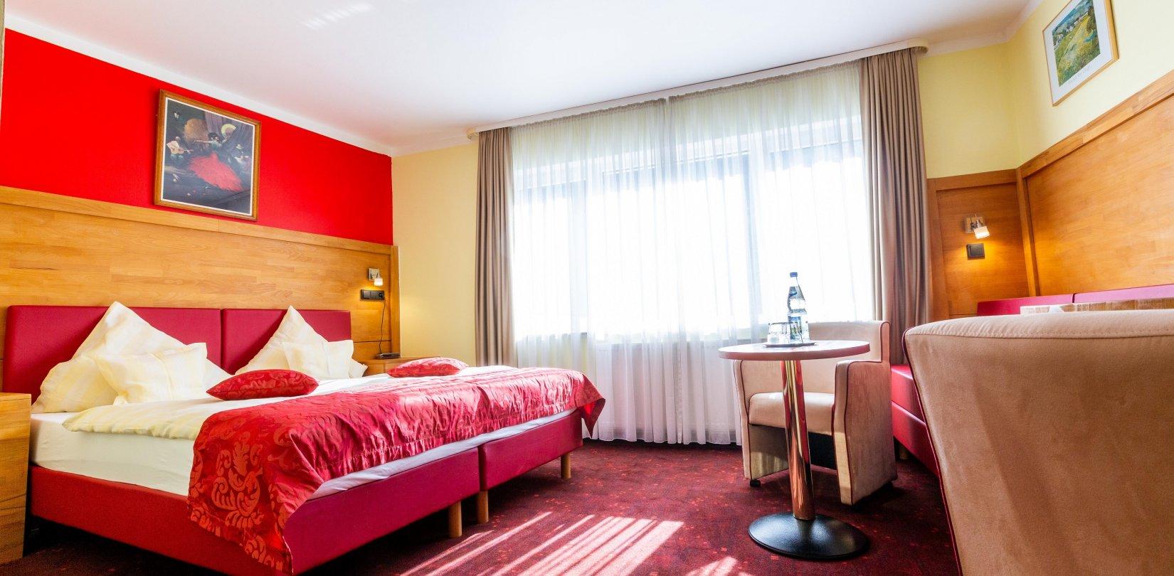 Dreibettzimmer-Komfort